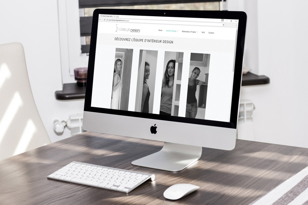 Intérieur Design Screen Projet
